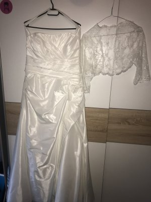 Wedding Dress white silk