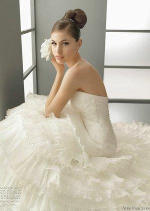 Wedding Dress natural white-oatmeal