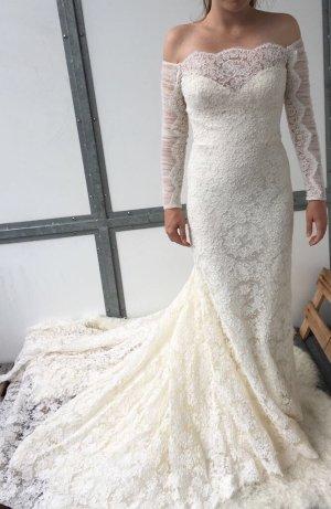 Brautkleid Atelier Pronovias Meerjungfrauen Spitze
