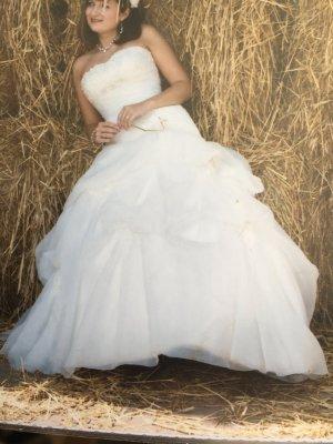 Divina Vestido de novia blanco puro