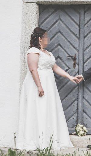 Lohrengel Abito da sposa bianco sporco-crema