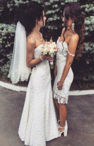 Brautkleid Brautjungfernkleid Partykleid