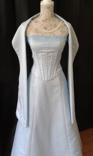 Magic Nights Wedding Dress pale blue