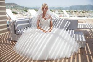 Brautkleid Demetrios Prinzessinenstil Größe 34 / 36 – NP 1990 Euro – VB 990 Euro