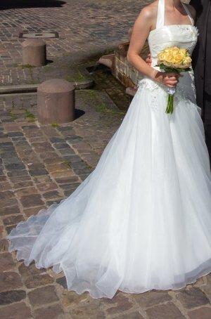 Agnes Wedding Dress natural white-white