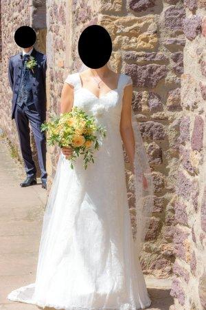 Lohrengel Abito da sposa bianco sporco-bianco