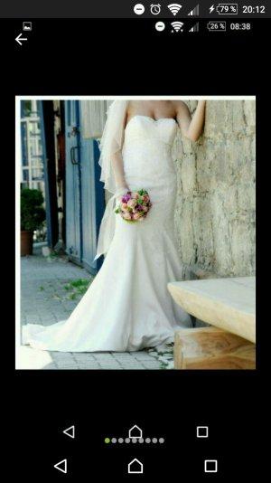 Brautkleid Divina Sposa Kollektion 2016 Meerjungfrauenkleid/alinie ivory