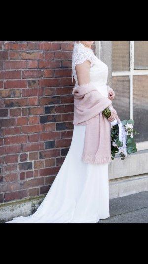 Brautkleid dreiteilig mit Spitze