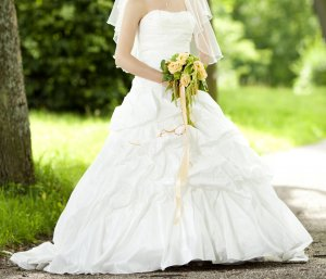 Wedding Dress natural white-white