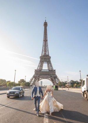 Elie Saab Robe de mariée crème-blanc