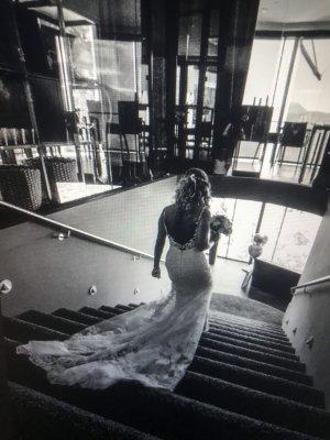 Brautkleid, Enzoani, Größe XS, 34, Neupreis 2700 €