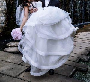 Brautkleid Farbe ivory Gr :34