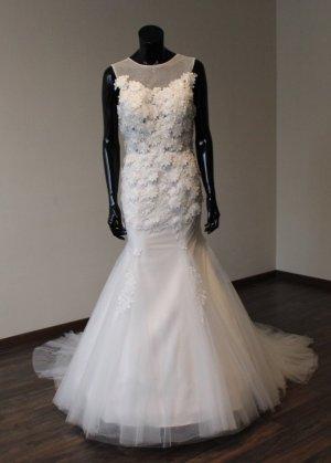 Brautkleid Fit and Flare / Meerjungfrau - Ivory - Gr. 38/40 - Neu