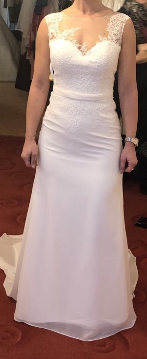 Lohrengel Wedding Dress white