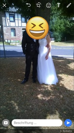 Unique Bruidsjurk wit