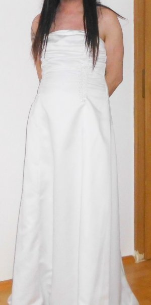 Brautkleid Gr 44 weiss