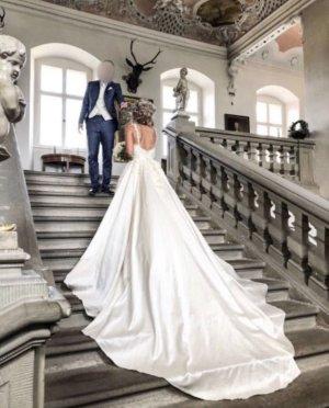 Brautkleid Hochzeit Designerkleid Elie Saab