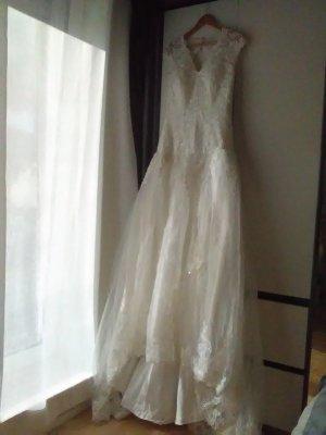 Wedding Dress white synthetic