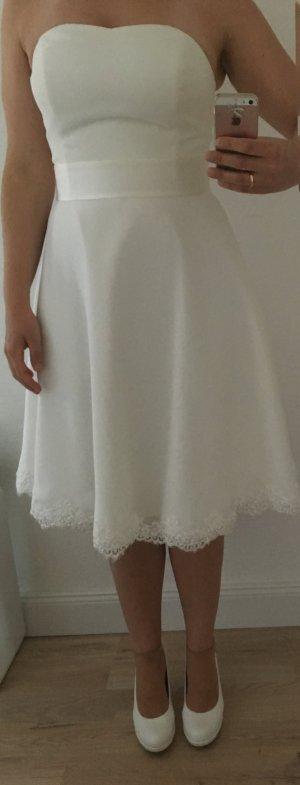 Brautkleid/Hochzeitskleid Bianco Evento Peonia Gr. 40 creme/ivory