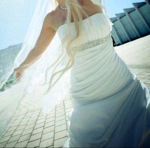 Brautkleid, Hochzeitskleid, Designer eddy k., Italien, Farbe ivory, gr. 34, 36, 38