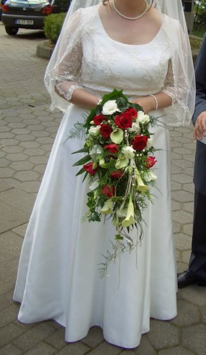 Lilly Vestido de novia crema