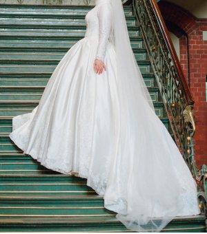 Brautkleid Hochzeitskleid Gelinlik Dügün Hochzeit Tessettür 38-42