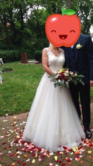 Brautkleid Hochzeitskleid Gr. 36 blush