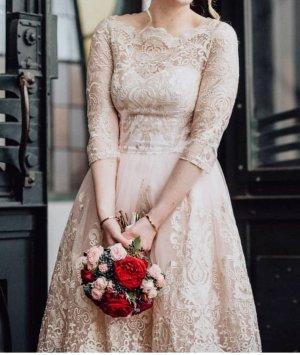 Chi Chi London Wedding Dress rose-gold-coloured
