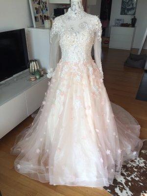 Brautkleid Hochzeitskleid Kleid Rosé ivory L/XL neu