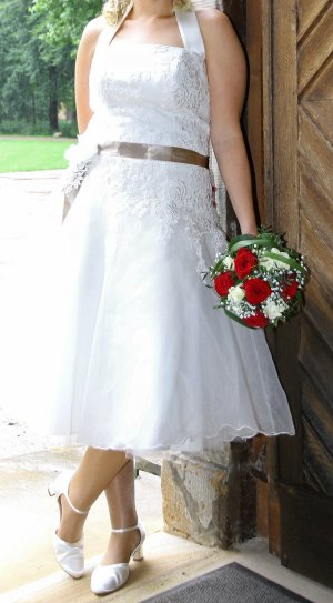 Brautkleid/ Hochzeitskleid kurz