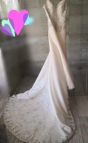Queen Abito da sposa bianco