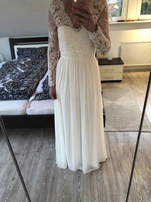 H&M Vestido de novia crema