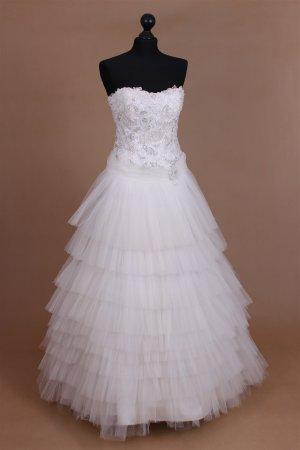 Brautkleid Hochzeitskleid Prinzessin S M 36 38 40