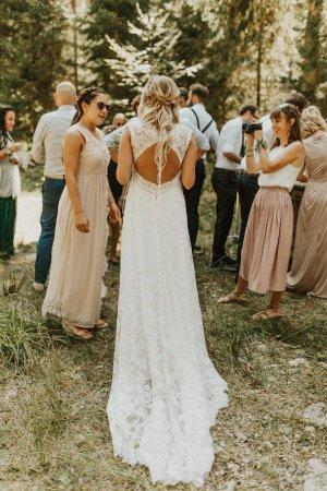 Brautkleid/Hochzeitskleid Pronovias Ederne Kollektion 2019