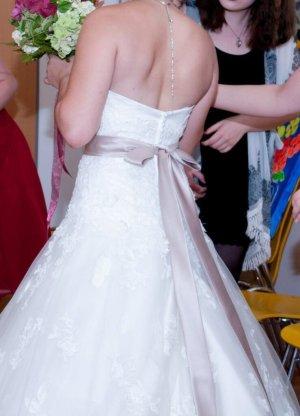 Brautkleid Hochzeitskleid S 36 38 inkl. Reifrock Sincerity