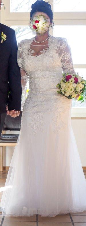 Mascara Vestido de novia crema