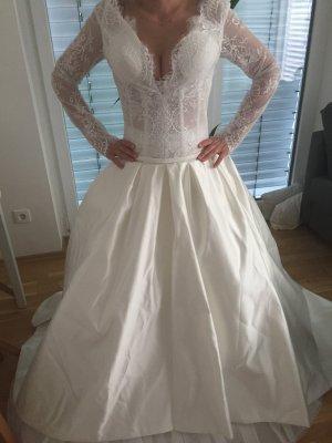 Brautkleid im Rosa Clara Stil 34/36