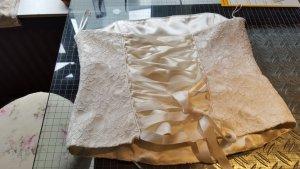 Brautkleid in Creme gr 36