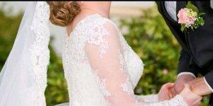 Brautkleid in Größe 40/M