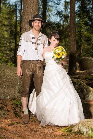 Brautkleid in Ivory