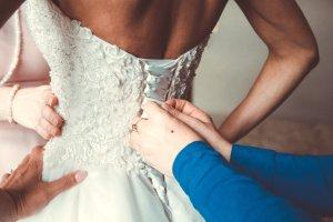 0039 Italy Abito da sposa multicolore