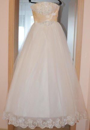Brautkleid in weiß, Größe 36