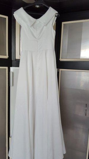 Brautkleid in weiss Grösse 36