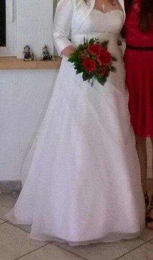 Brautkleid in weiß, Größe 42