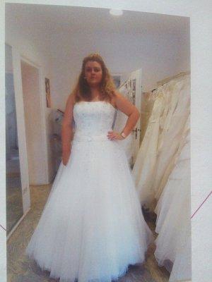 Brautkleid ivory 52( ich trage normal 46)