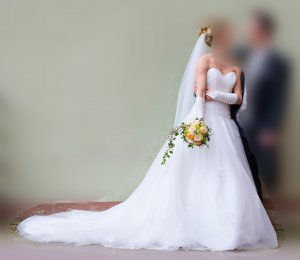 Brautkleid ivory (Avinia)