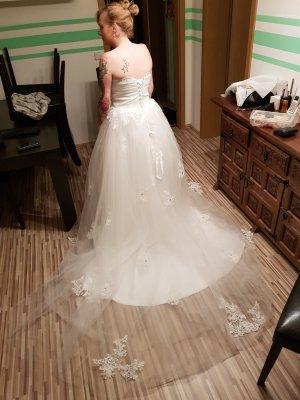 Robe trapèze blanc