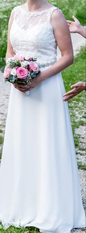 Brautkleid Ivory Gr 38