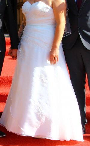 Brautkleid Ivory Größe 48