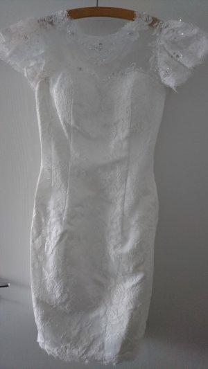 Brautkleid kurz eng anliegend Vintage